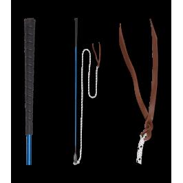 Fruste e frustini da equitazione BRAID Sparkle MANICO FRUSTA-scegli taglia e colore