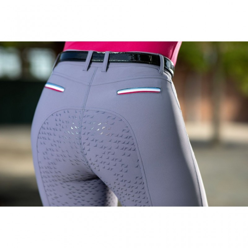 con rinforzo completo e silicone Horze Active Pantaloni da equitazione per bambina o ragazza